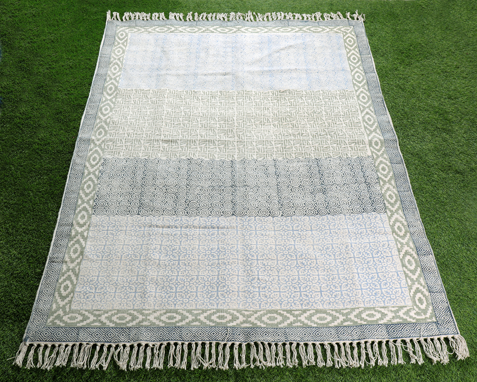 Rectangle Printed Antique Rug