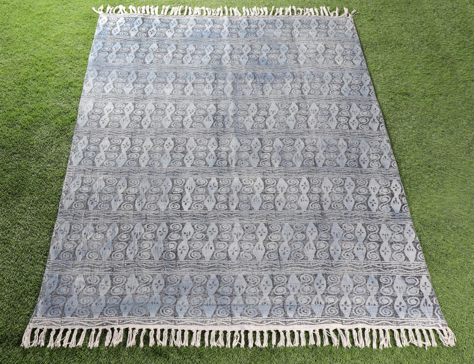 Handblock Printed Rug