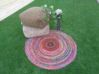 Handmade Cotton Chindi Dari Round