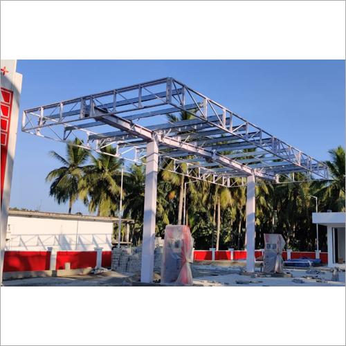Petrol Pump Canopy Structure