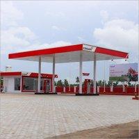 Prefabricated Petrol Pump Canopy