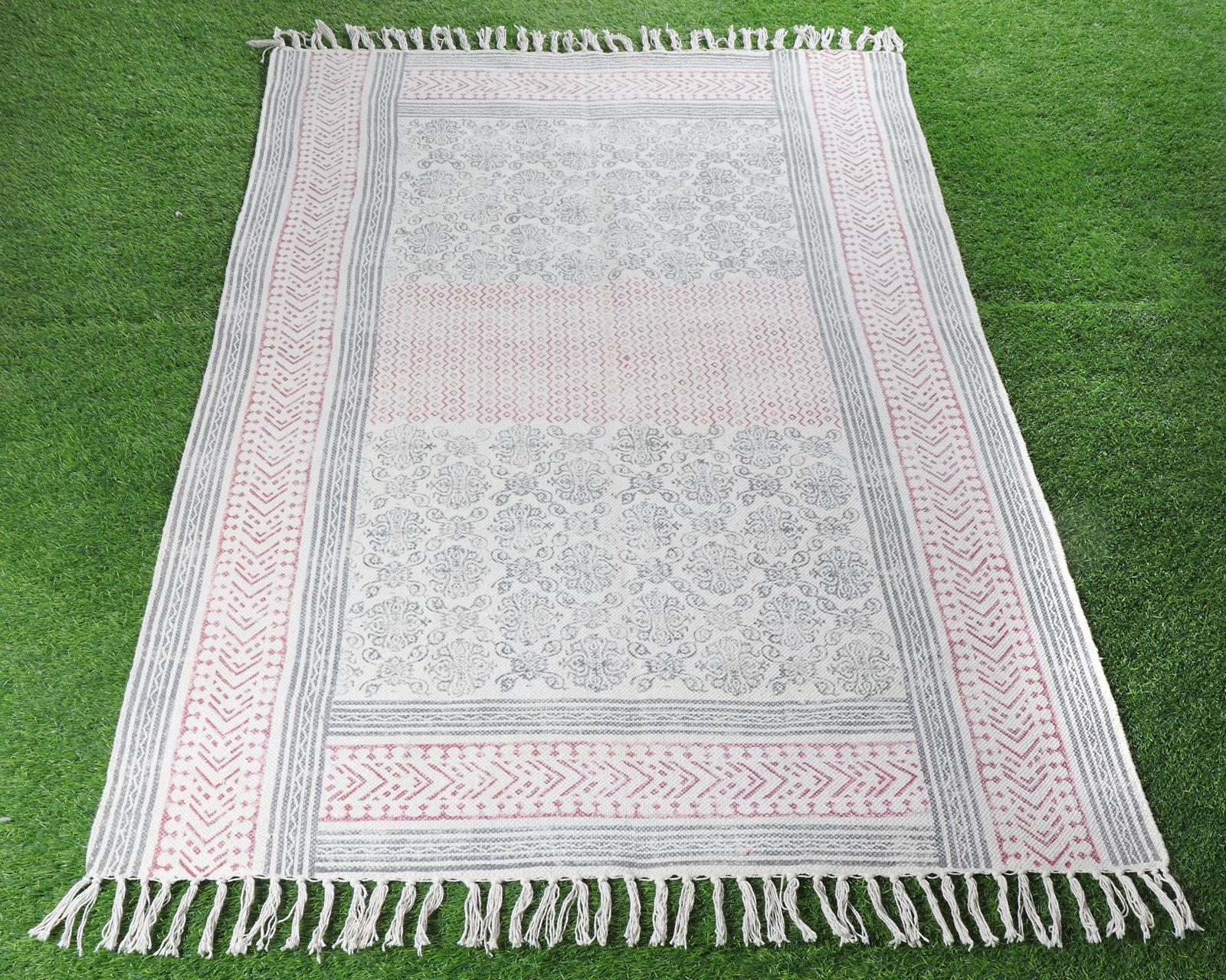 Handmade Cotton Dari Rug