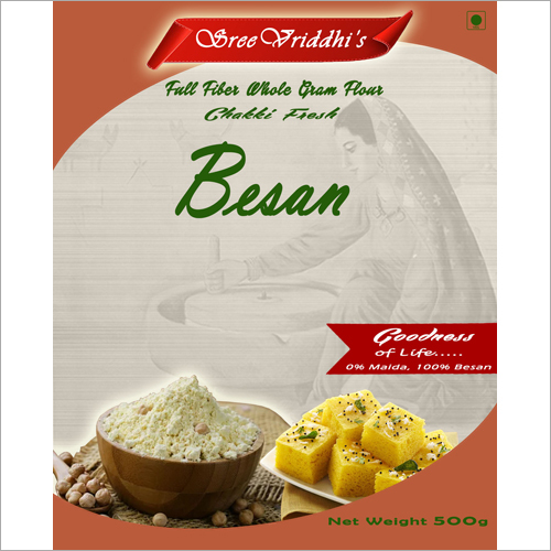 500 GM Pure Besan Flour