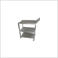 3 Shelves Trolley