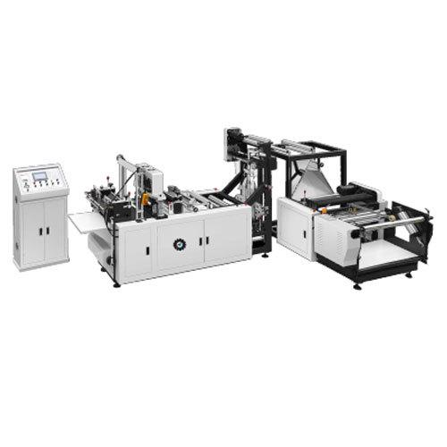 Non Woven Flat Type W U Cut Making Machine