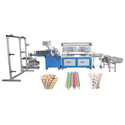Paper Straw Making Machine (RZM-500)