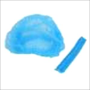 Blue 16 Inch Non-Woven Bouffat cap