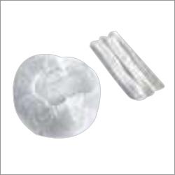 White 21 Inch Non-Woven Bouffant Cap
