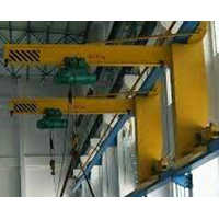 Moving Cantilever Wall Crane
