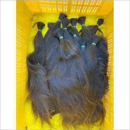 Black Temple Human Hair