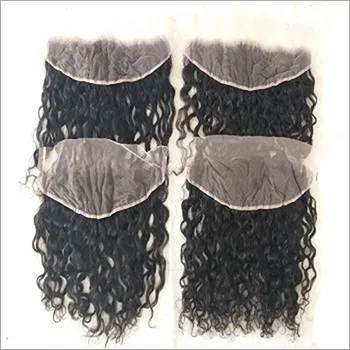 Raw Curly Hd Lace Frontal Swiss Transparent 13x4