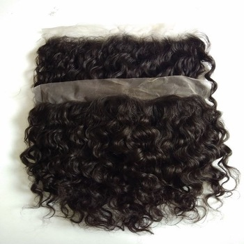Raw Curly Hd Lace Frontal Swiss Transparent