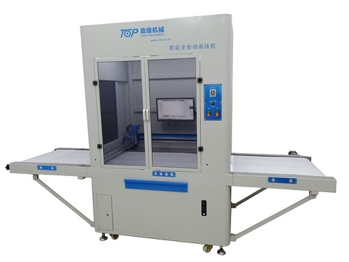 Visual Positional Automatic Shoe Marking Machine
