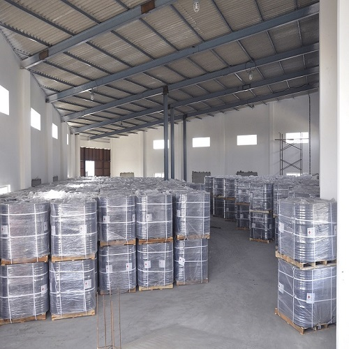 Customs bonded warehouse packing of chemicals