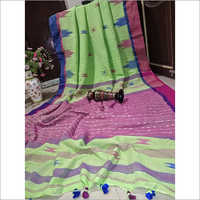 Khadi Cotton Designer Saree