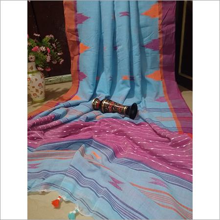 Khadi Pure Cotton Printed  Saree