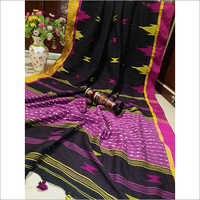 Khadi Cotton Multi Color Saree