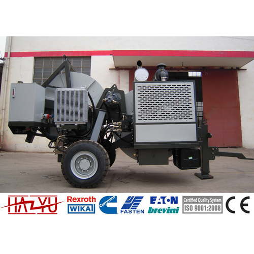 TY60TP 60kN Hydraulic Puller-Tensioner Machine For Overhead Stringing