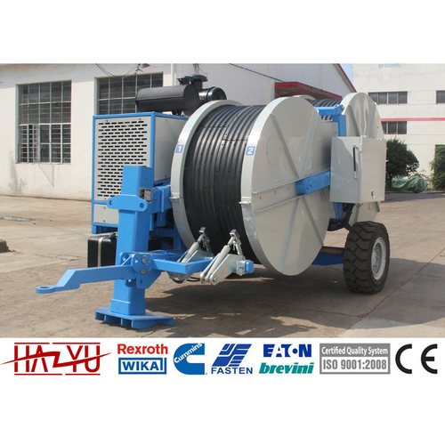 TY2x70TP 2x70kN Transmission Line Stringing Equipment Hydraulic Puller-Tensioner