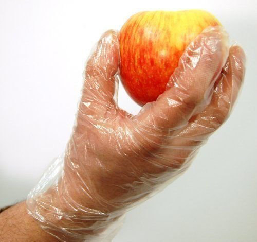 Transparent Disposable Clear Plastic Hand Gloves