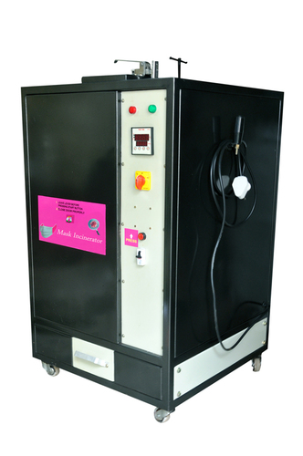 Suci Tantra - Lab Shoes/ Sanitary Napkins Lab Face Sheild Incinerator