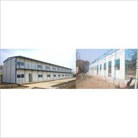 Steel Labour Hutment
