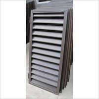 Aluminum Rectangle Window Louver