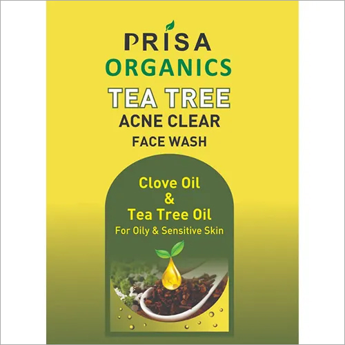 Tea Tree Acne Clear Face Wash