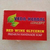 Red Wine Glycerin Soap