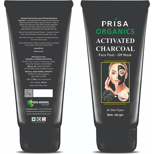 Activated Charcoal Face Peel - Off Mask