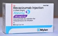 Abevmy 100mg Injection (Bevacizumab (100mg) - Mylan Pharmaceuticals Pvt Ltd)
