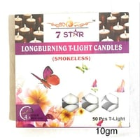 T-Light Candles 10gm Pack Of 50 Pcs