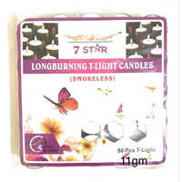T-Light Candles 11gm Pack Of 50 Pcs