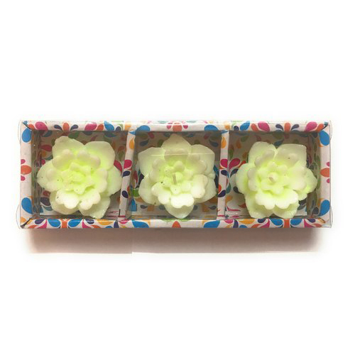 Floater Candles Flower 3 Pcs