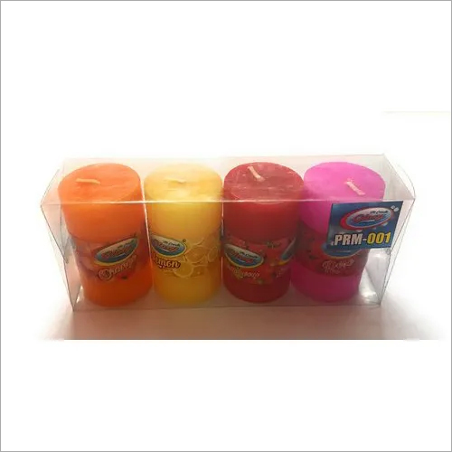 Mould Candle Multicolor 4 Pcs