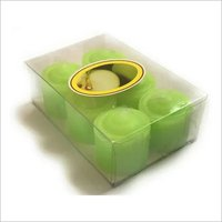 Mould Candles Green 6 Pcs