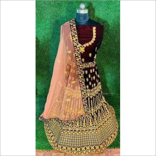 Fancy bridal wear lahenga choli