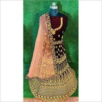 Fancy bridal wear lahenga choli