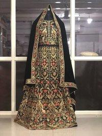 Black Fancy Lehenga Choli