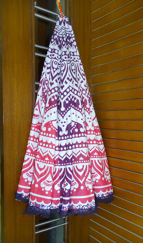 Mandala Tapestry Round