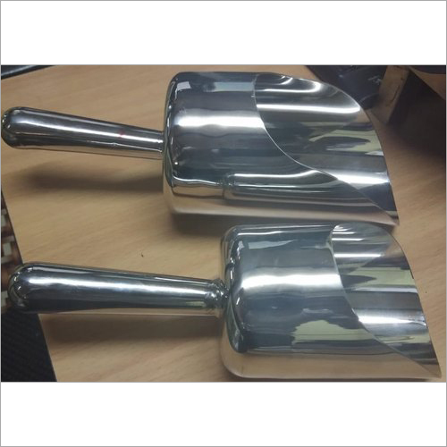 Stainless Steel SS Close Type Scoop