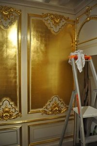 Golden Marble Sheet