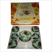 7 Piece Glass Pudding Set