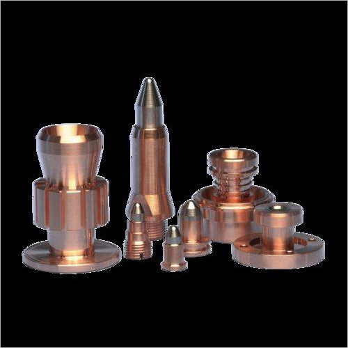 Copper Cnc Turned Components
