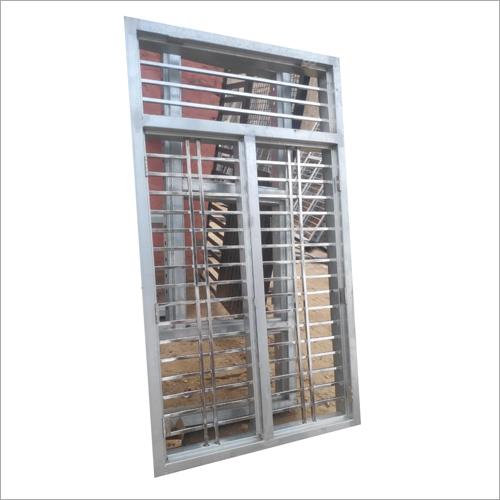 GI Steel Pipe Window