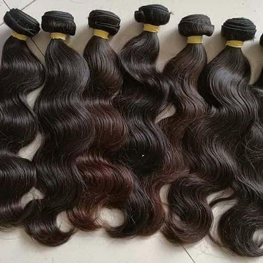 Wholesale price top quality virgin human hair body wave hair