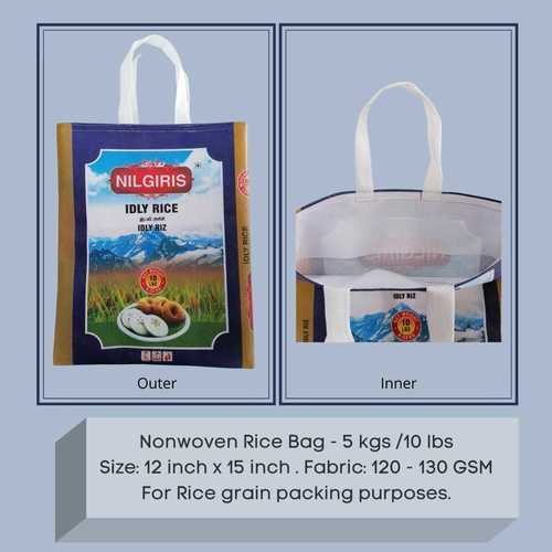5 kg Nonwoven Rice Bags