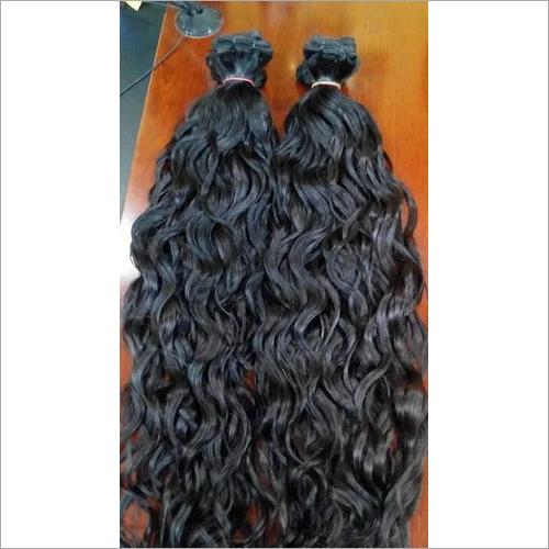 RAW INDIAN HUMAN THICK WAVY HAIR