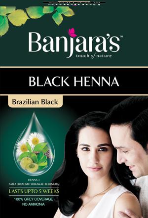 Banjaras Black Henna brazilian Black