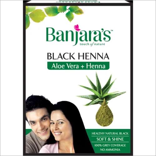 Banjaras Black Henna Aloe Vera and Henna